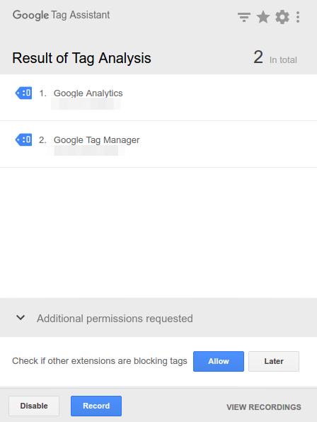Google Tag Manager - Weryfikacja za pomocą Google Tag Assistant