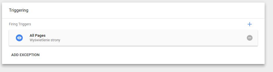 Google Tag Manager - Konfiguracja trigerów