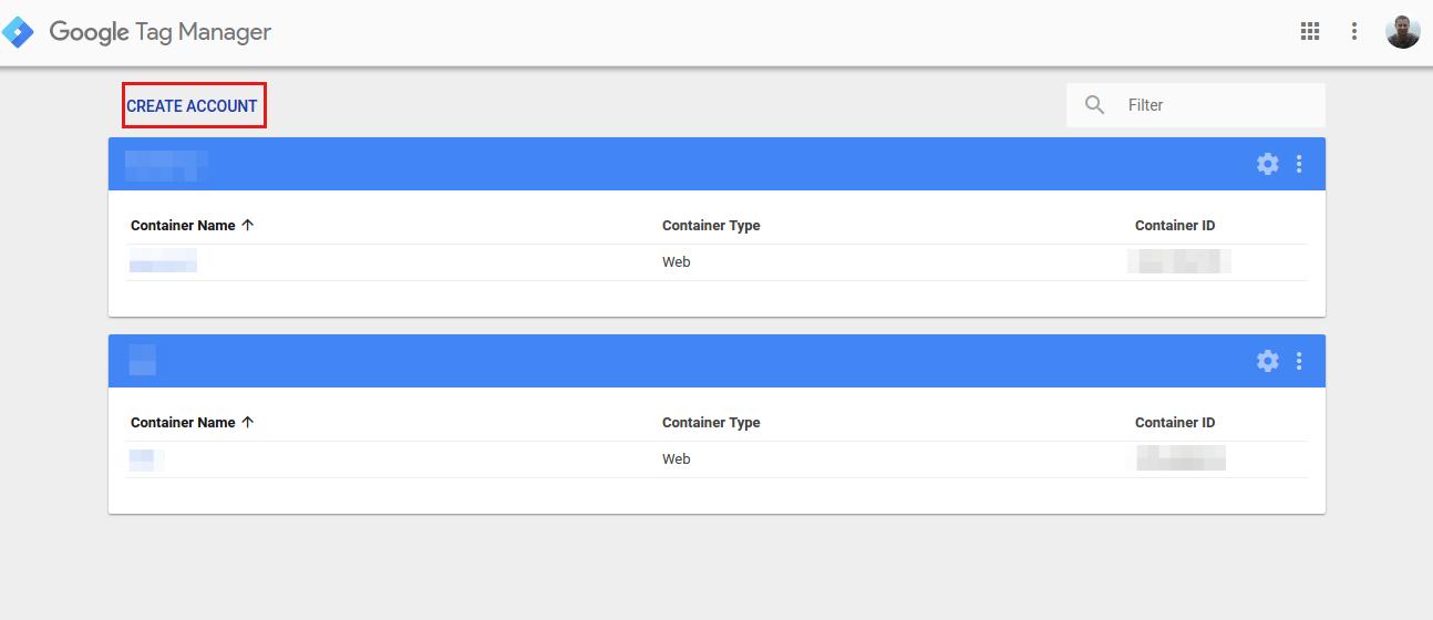 Google Tag Manager - Tworzenie konta